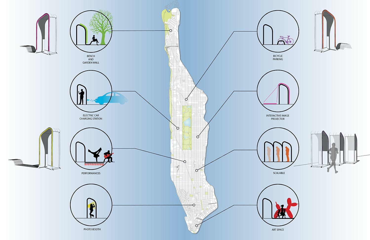 NYC Reinvent Payphones Design Challenge Entry by FXFOWLE