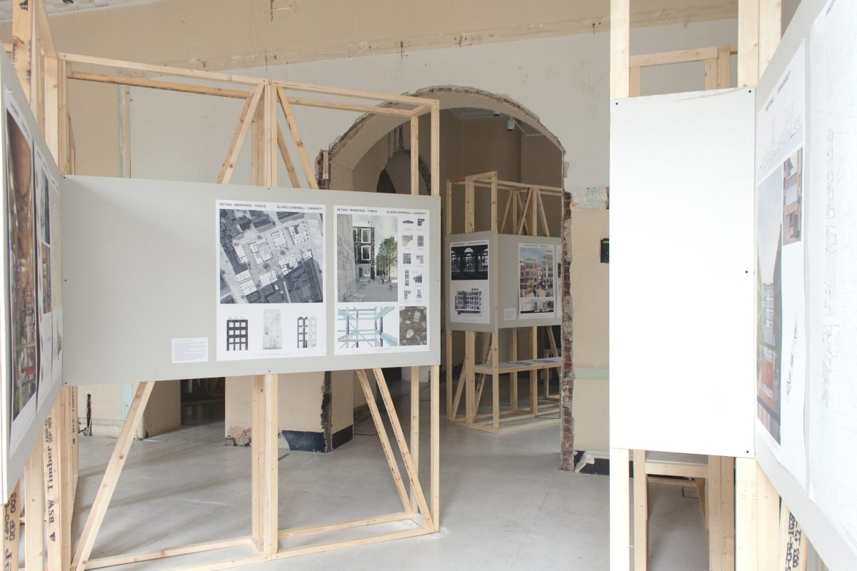 CHANGE   The London School Of Architecture Degree Show At Somerset House