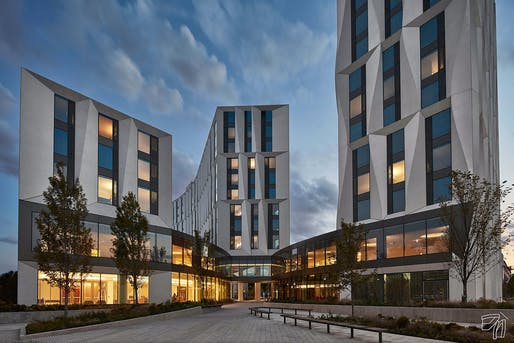 Category—Distinguished Building, Honor Award:​ North Residential Commons, Studio Gang