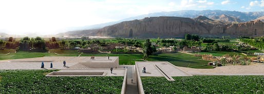 Bamiyan Cultural Centre winning proposal: 'Descriptive Memory: The Eternal Presence of Absence' by Carlos Nahuel Recabarren, Manuel Alberto Martinez Catalan, and Franco Morero from Argentina. Image courtesy of UNESCO Afghanistan.