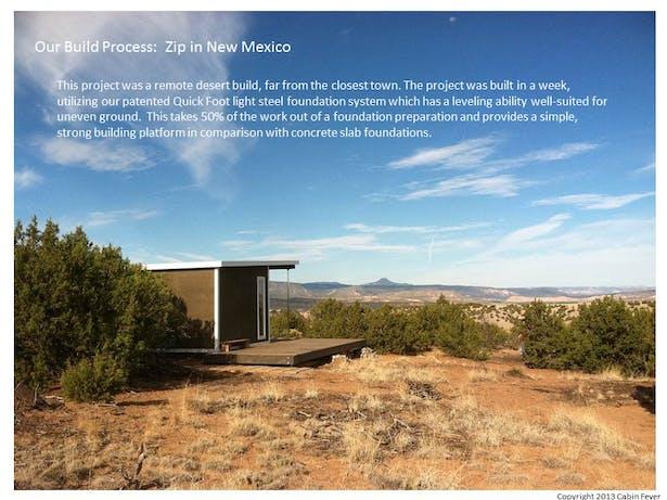Zip Remote Build in New Mexico
