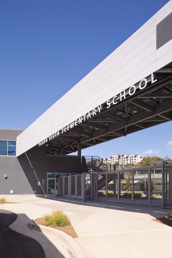 City of Los Angeles Green Building Award: Playa Vista Elementary School (Photo: Edmund Barr), Design/Executive Architecture Firm: Osborn Architects
