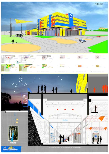 Competition Entry - Archaeological Thematic Museum of Piraeus, Greece