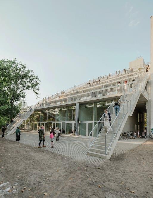 Finalist: Terracehouse Berlin in Berlin, Germany, designed by Brandlhuber+ Emde, Burlon and Muck Petzet Architekten. Photo by Erica Overmeer.