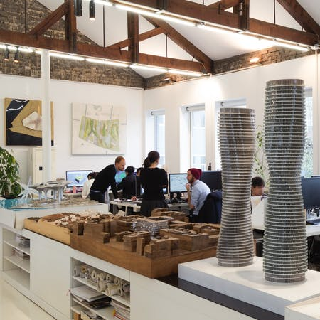 The office of MAD Architects, from our feature Office Still Life. Photo credit: Marc Goodwin/Archmospheres