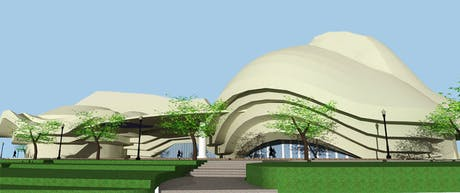Redesigning of Alhambra Art Complex !!!!