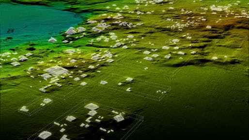 With the help of LiDAR technology, archaeologists were able to discover a vast network of Maya Civilization cities under the thick jungles of Guatemala. Image: Wild Blue Media/National Geographic.