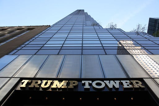 Imagine the heating bills on this one: Trump Tower in midtown Manhattan. Image: Wikipedia