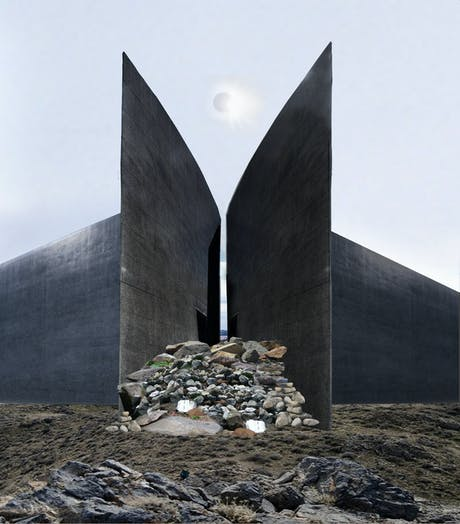 A Storm is Blowing From Paradise - Runner Up in Arch Out Loud's Nuclear Competition: A 10,000 Year Landmarker for Transuranic Waste