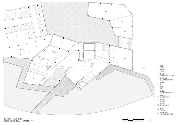 Clubhouse Lower Ground Plan
