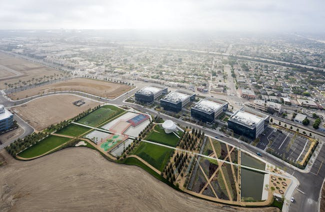 Playa Vista Park, Playa Vista, CA. Photo: Iwan Baan