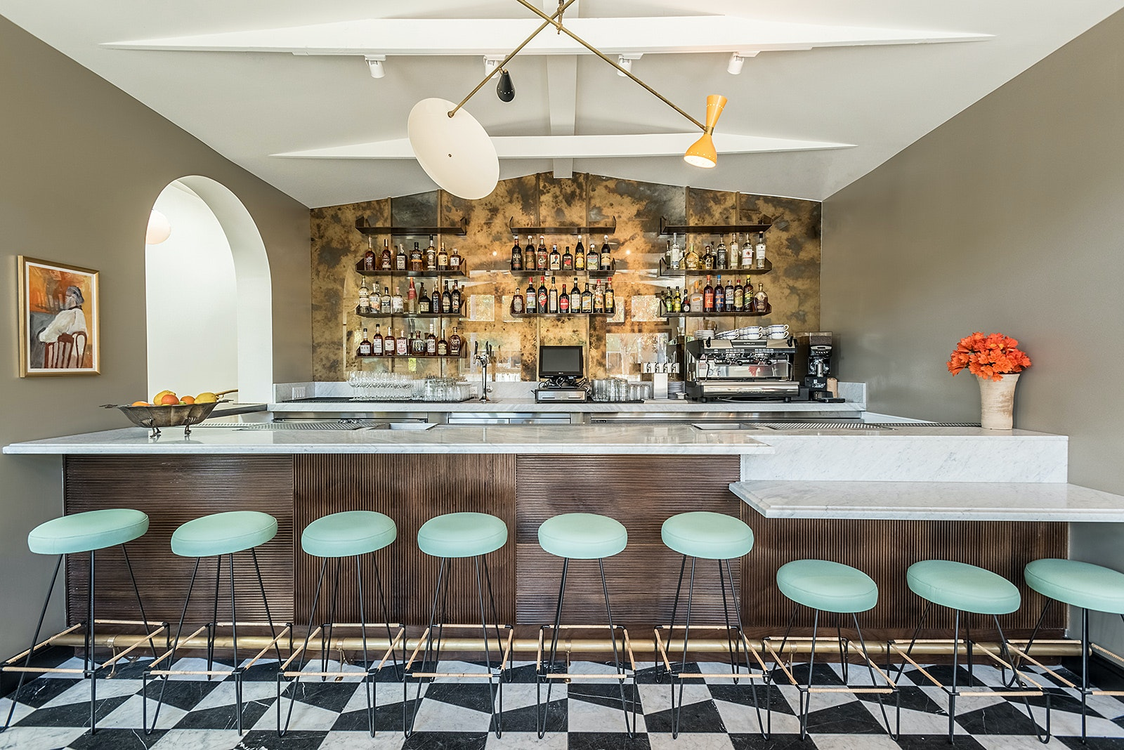 Peoples choice award restaurant felix trattoria venice ca designed by wendy haworth design studio david hertz faia