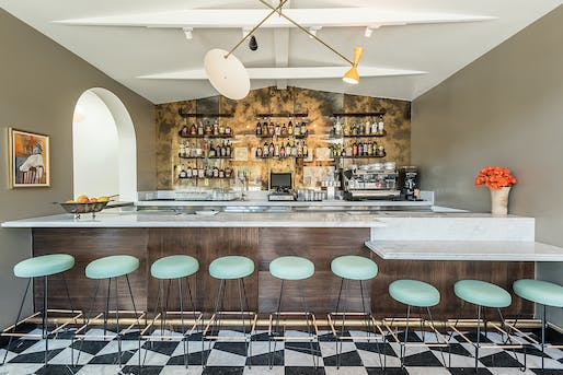 People's Choice Award - Restaurant: Felix Trattoria, Venice, CA. Designed by: Wendy Haworth Design Studio & David Hertz, FAIA. Photo: Wonho Frank Lee