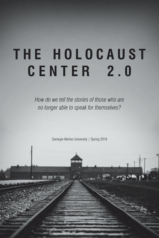 The Holocaust Center 2.0 publication was a collaborative effort of nine students