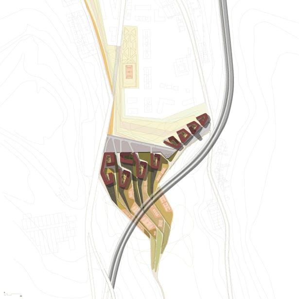 Dots&Loops - urban plan
