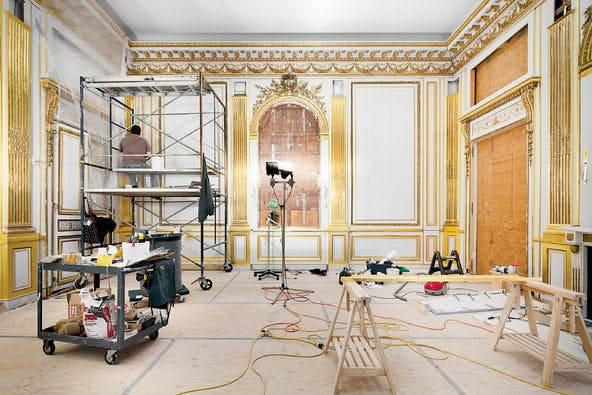 One of the finest examples of french neoclassical interior for Modern neoclassical interior design