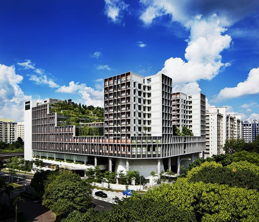 Kampung Admiralty in Singapore by WOHA Architects Image credit: Patrick Bingham-Hall, Darren Soh, Lim Weixiang.
