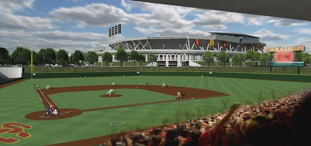 USC's New Dedeaux Field