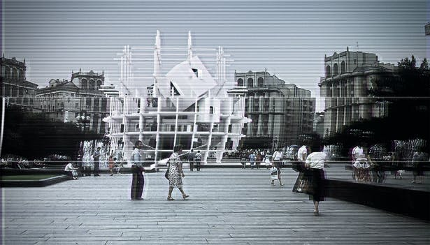 Forum Construction Sequence 2, Square of the October Revolution