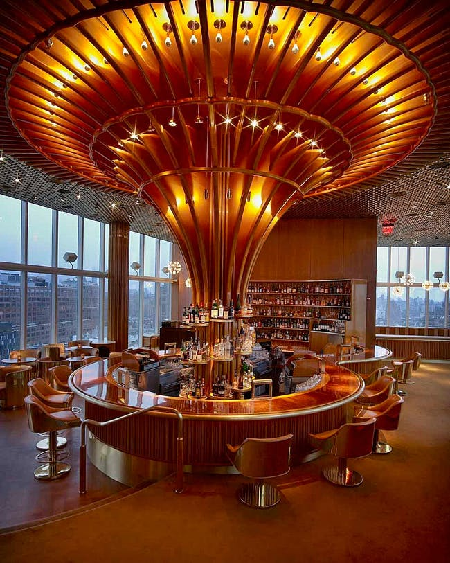 The Standard NY Hotel in New York, NY by Roman and Williams Buildings and Interiors