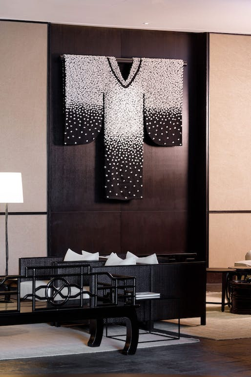 Middle House Hotel, Shanghai by Alison Pickett Corporate Art & Sculpture Consultants. Image courtesy CODAawards