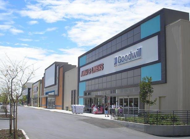 'Pillbox' warehouse repurposed as retail use
