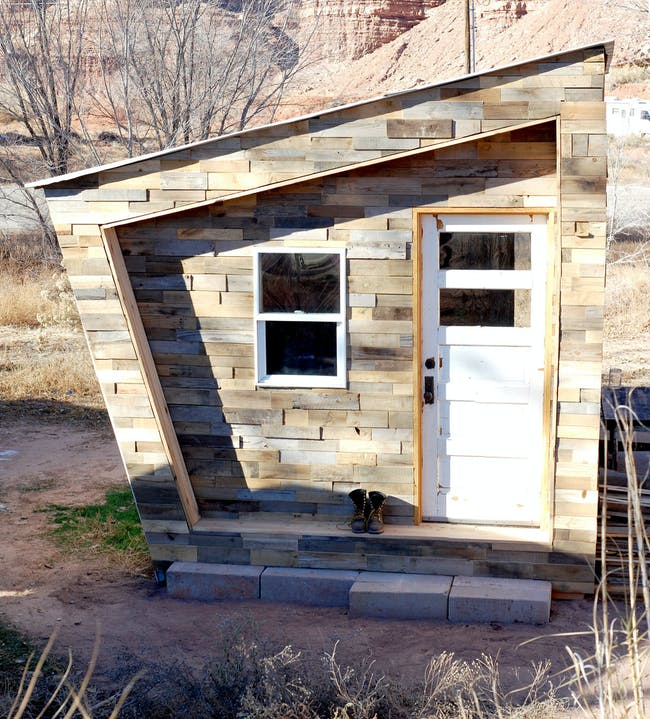FOUNDhouse in Bluff, Utah. Photo credit: Lacy Williams and Patrick Beseda