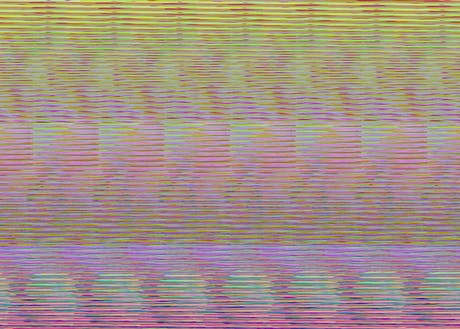 Glitch experiments for my pattern studies