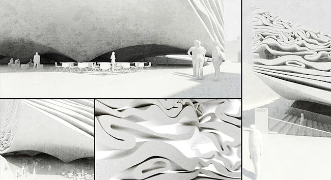 Closeup rendering (Image: MUS Architects)
