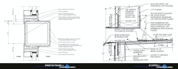 Construction Detail Drawings Mike Chou Archinect