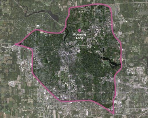 map of Ann Arbor