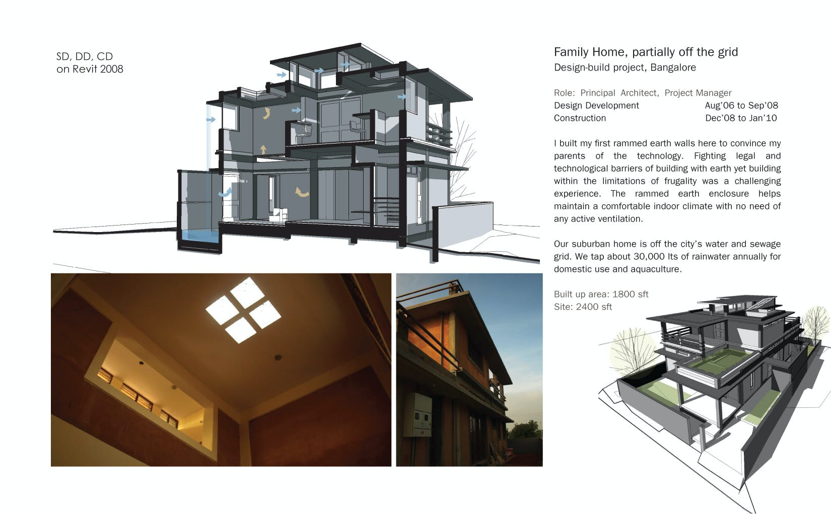 Eco Home: partially off the grid   Varun Thautam   Archinect