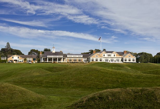 Exterior View from Course