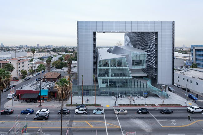 Emerson College Los Angeles by Morphosis Architects. Photo courtesy of 2015 AIA Tap Innovation Awards Program.