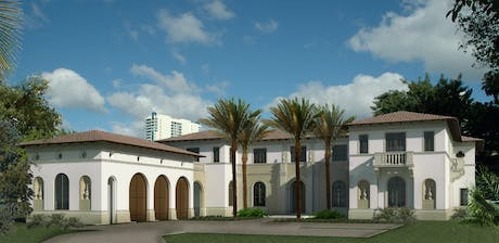 Finished a design presentation for a Design Review Board of a 24,000 SF high-end residence in Miami Beach, Florida