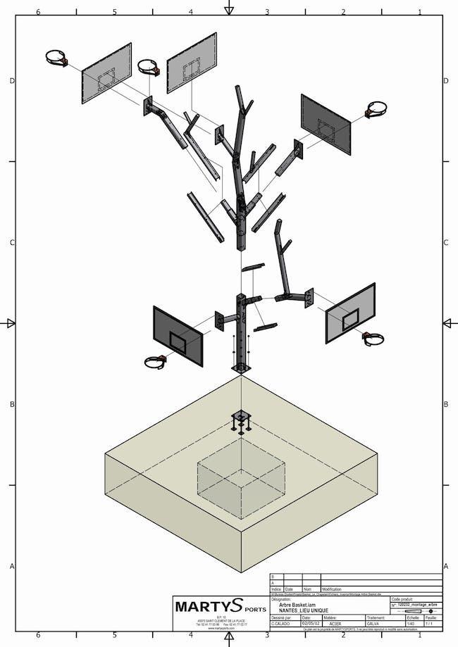 L'ARBRE A BASKET (schematics) via a/LTA architectes