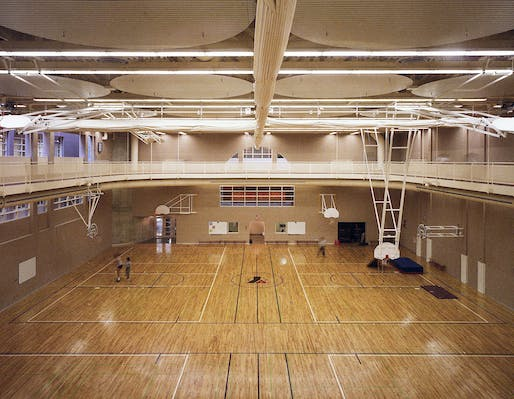 Gymnasium. Photo: Fiona Spalding-Smith.