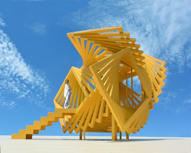 A functional art structure