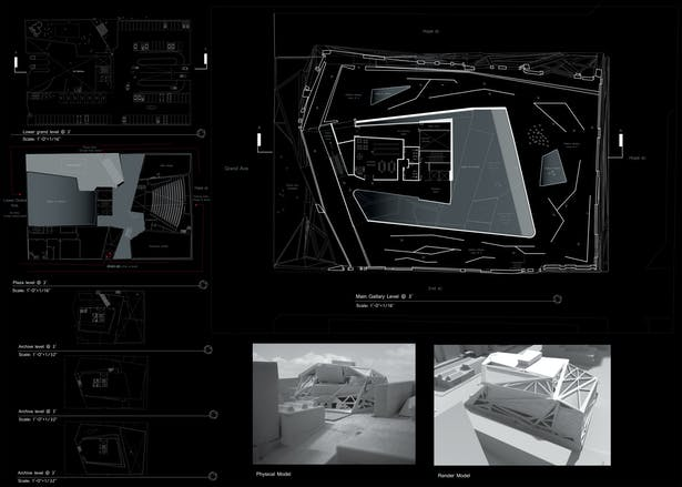 ALL FLOORS, PERSPECTIVES & FINAL MODEL