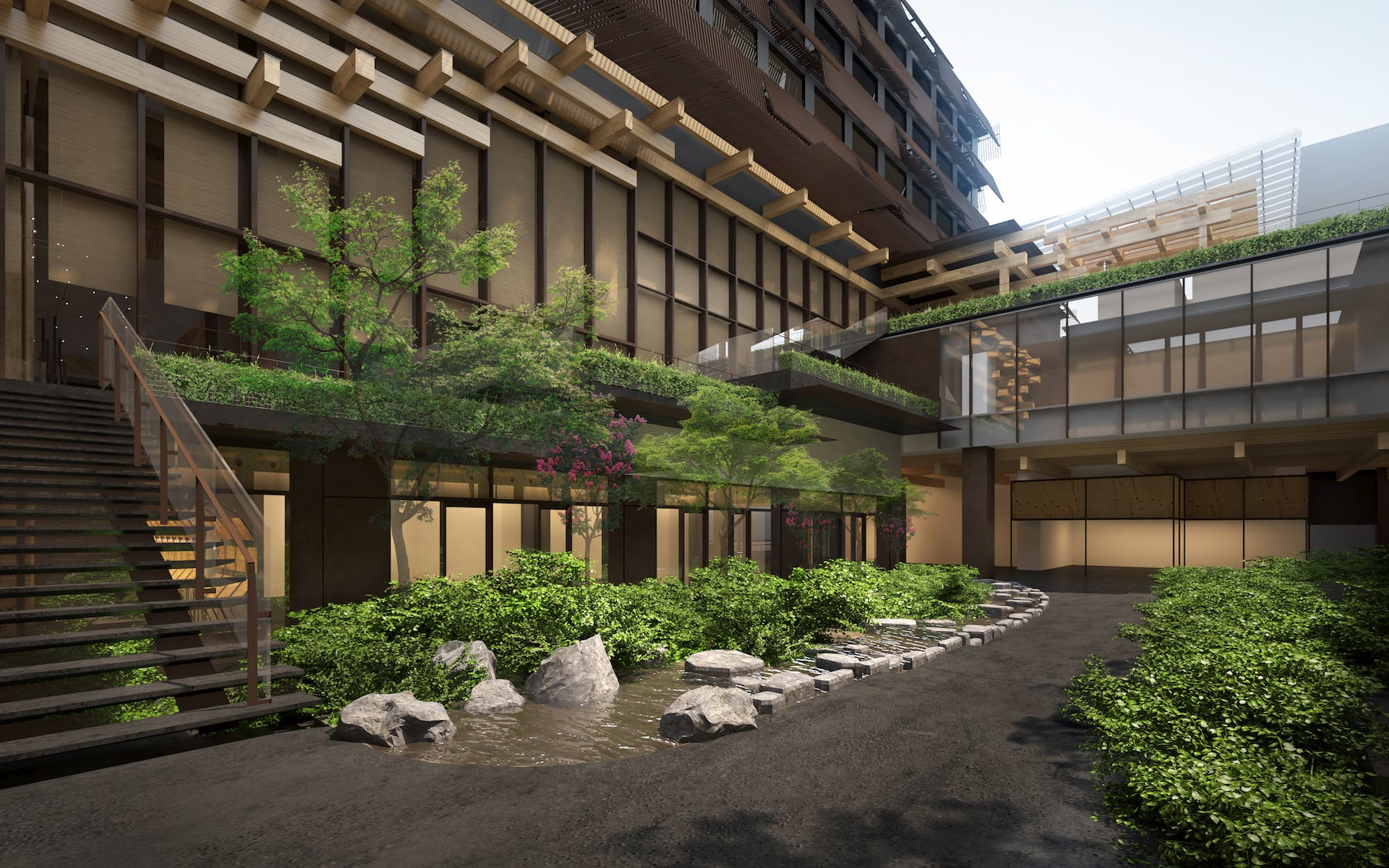Ace Hotel will open its first Japanese location with a Kengo Kuma ...