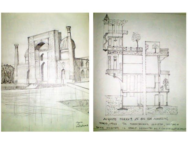 Sketches in Pencil-3