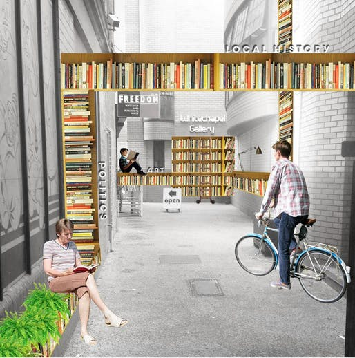 The 'Literalley' a crowdfunding project submitted to the Mayor's page.