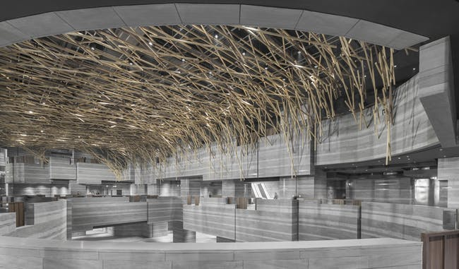 Finalist in 'Commercial/Institutional Interiors:' The HUB Performance and Exhibition Centre in Shanghai, China by Neri&Hu Design and Research Office