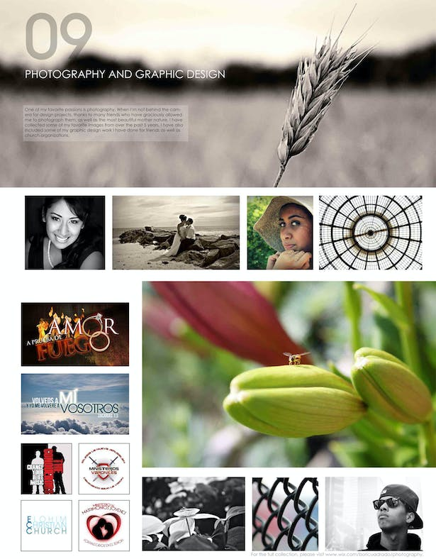 Photography & Graphic Design Samples