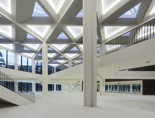 Palais de la Musique et des Congrès (PMC) Strasbourg – Main foyer