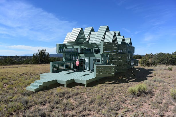 The Malleable Autonomous Retreat House, an interactive house that can change its shape to accommodate changing needs.