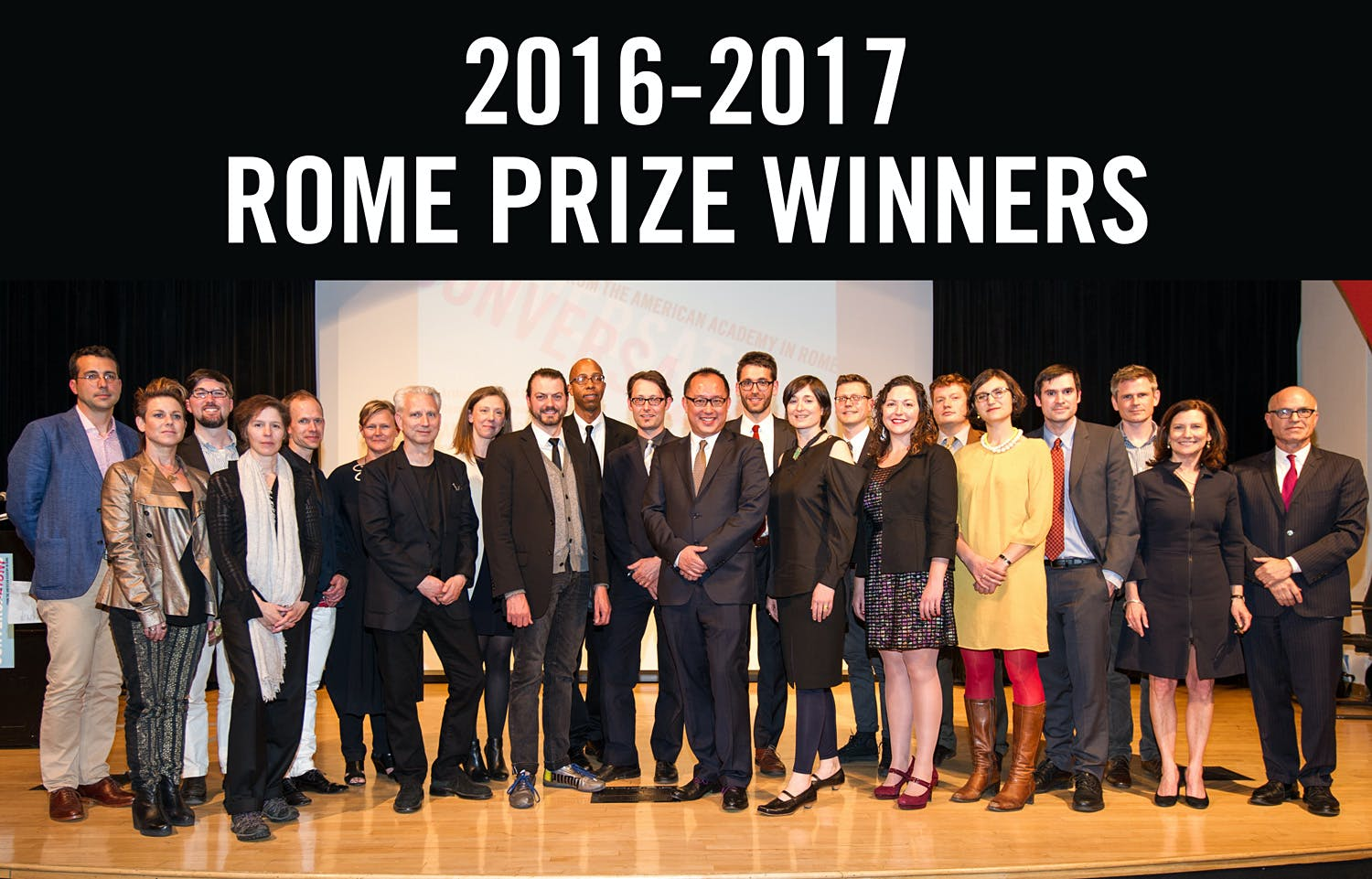 American Academy In Rome Announces 2016 17 Rome Prize Winners