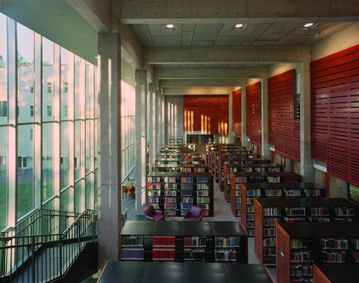 The Mississippi Library Commission Headquarters by Duvall Decker Architects. Image: Duvall Decker Architects
