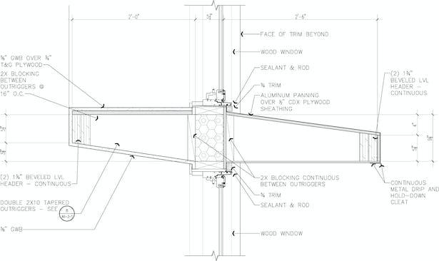light shelf detail