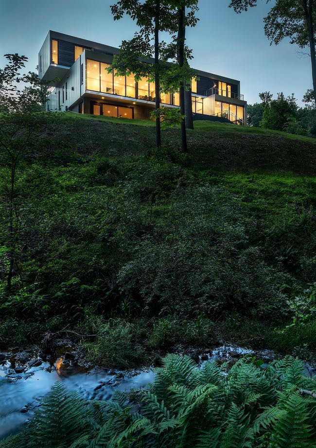 Bridge House in McLean, VA by Höweler + Yoon